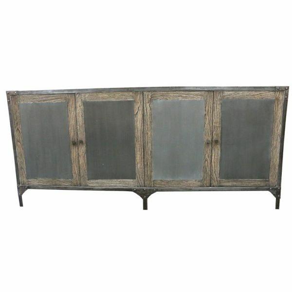 INDUS-Buffet-4-Door-Old-Wood