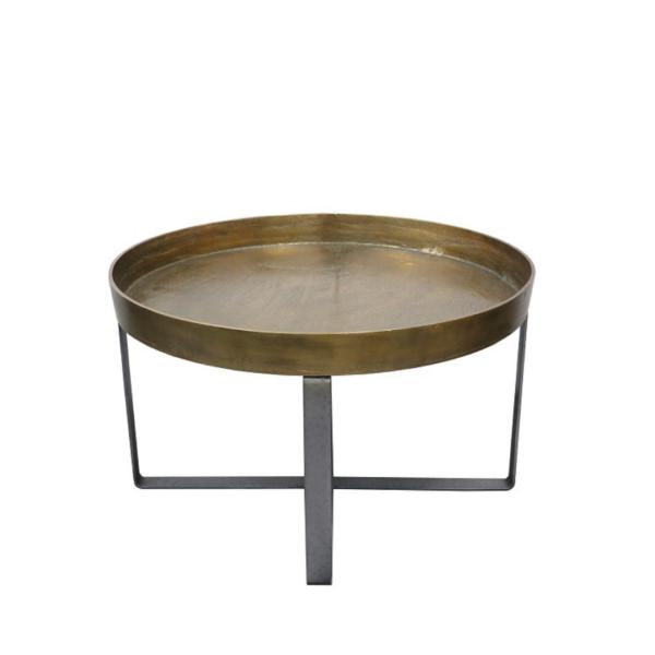 Manhattan Coffee Table Brass Antique