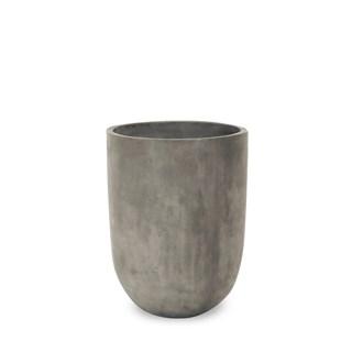 Omaha Concrete Planter Large Grey