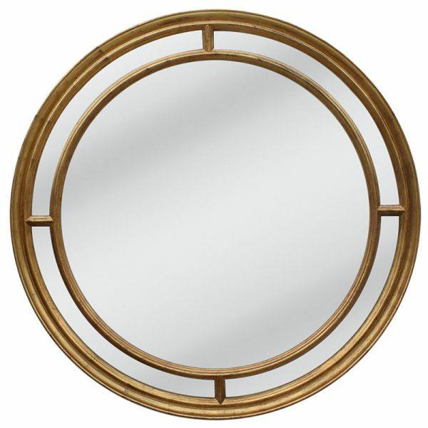 Lorenzo Gold Mirror