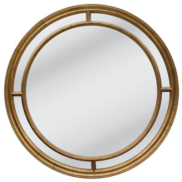 Lorenzo Gold Mirror