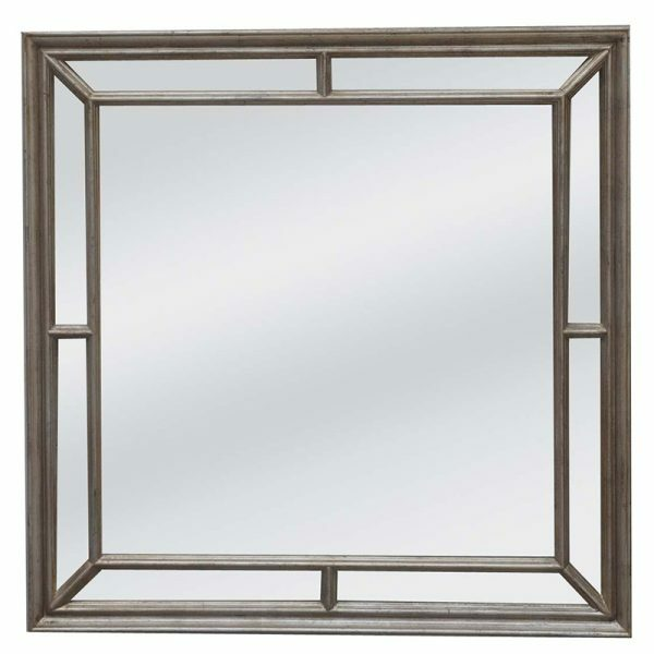 Matteo Silver Mirror