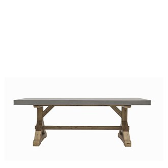 Trestle Concrete Table 2200L