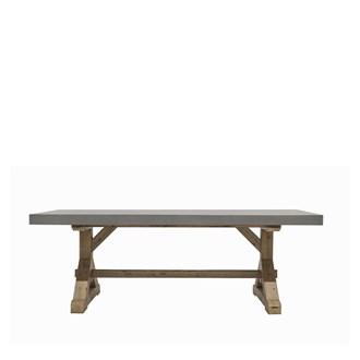 Trestle Concrete Table 2200L