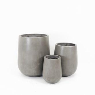 Otama Large Grey Pot