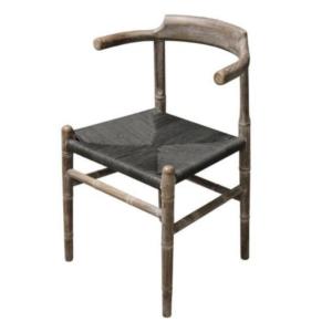 Bejing Dining Chair Oil Grey