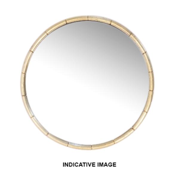 Brass Wrap mirror 820DIA