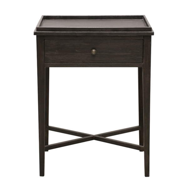 Charcoal Oak Bedside