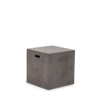 Concrete cube stool 45cm