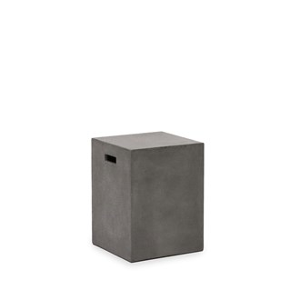 Concrete rectangle stool 46cm