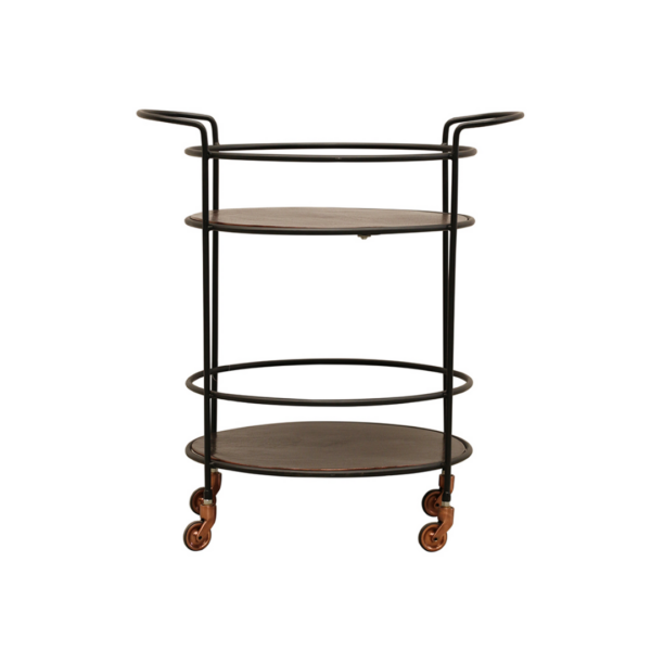 Copper Drinks Trolley