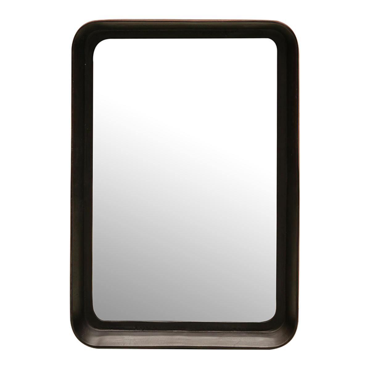 Dark Copper Finish Retangular Mirror