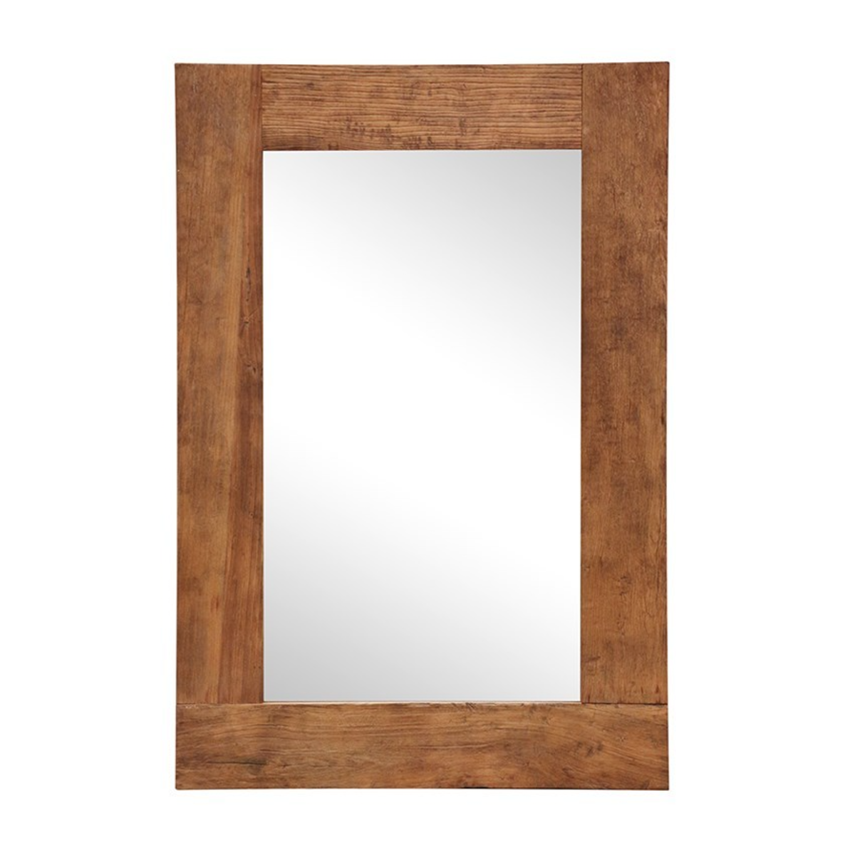 Rectangular Recycled Elm Mirror
