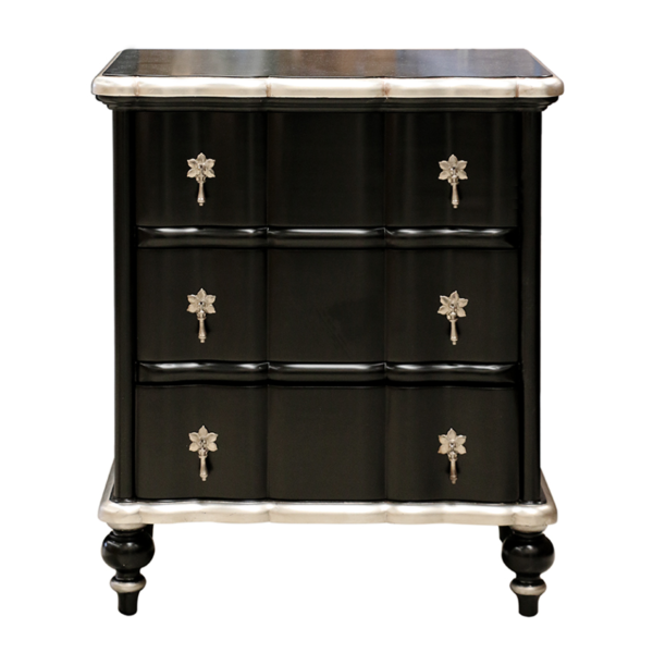 Ripple Bedside Black