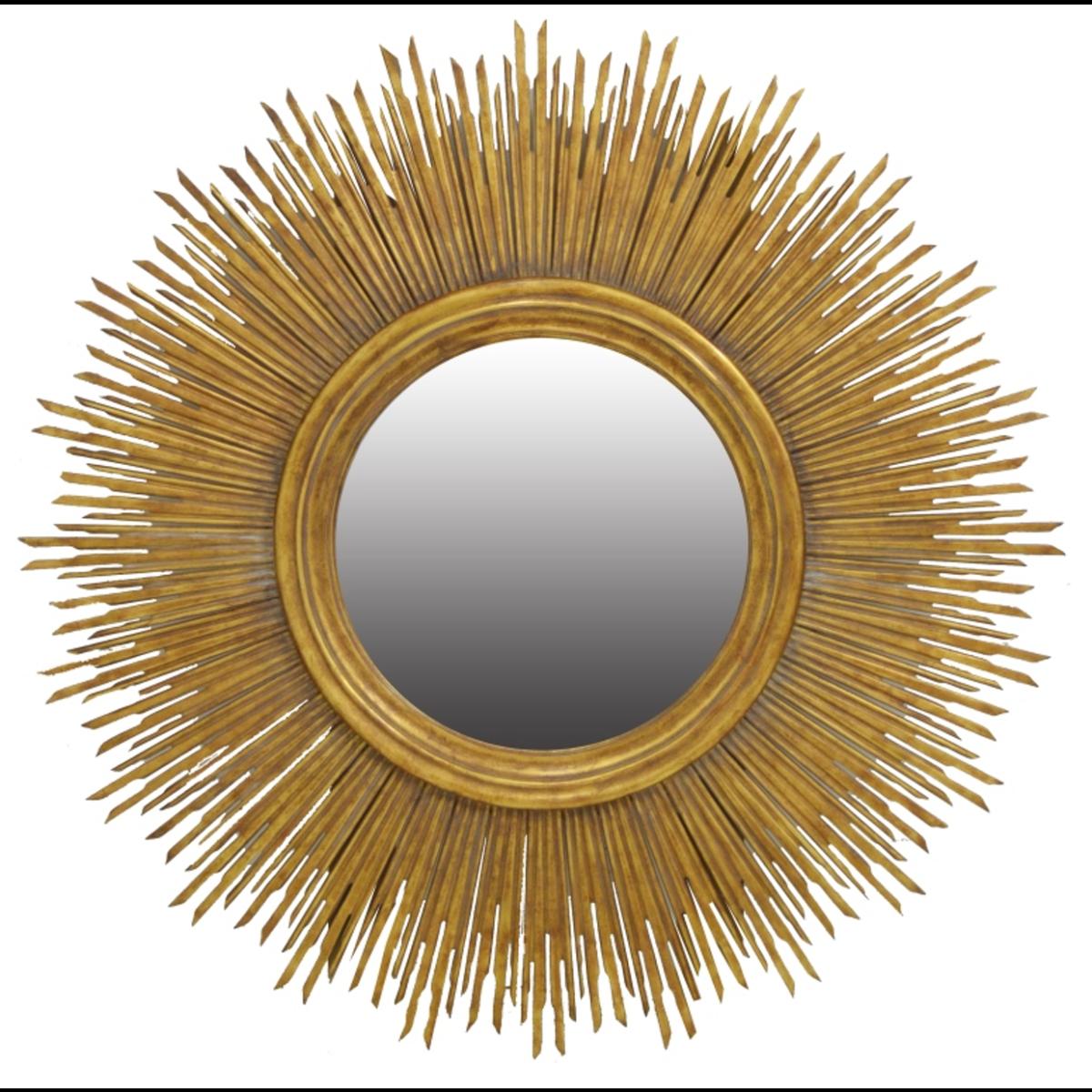 Sunstruck round mirror