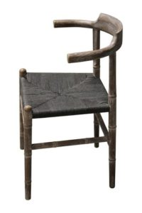 Bejing Dining Chair Oil Grey
