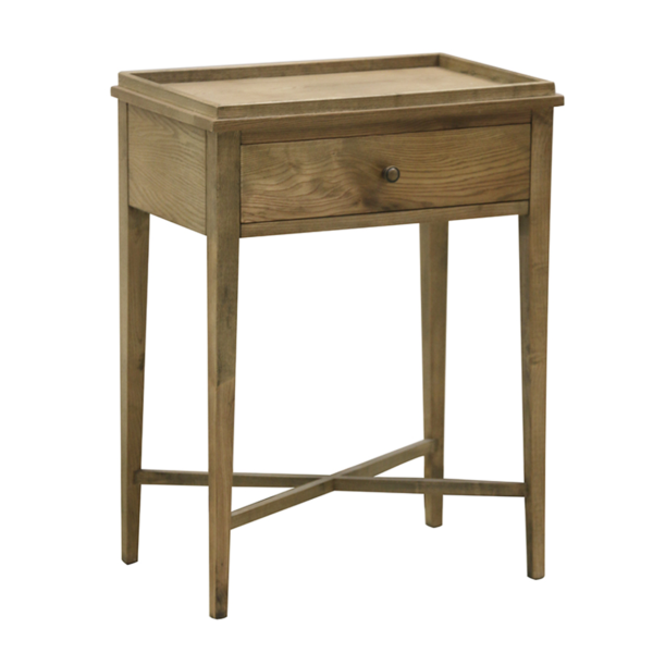 Natural Oak Bedside