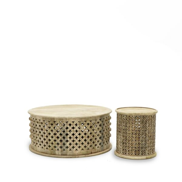 Bamileke Coffee Table - Natural