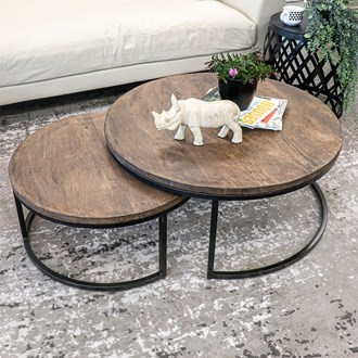 Chandri Nesting Coffee Tables