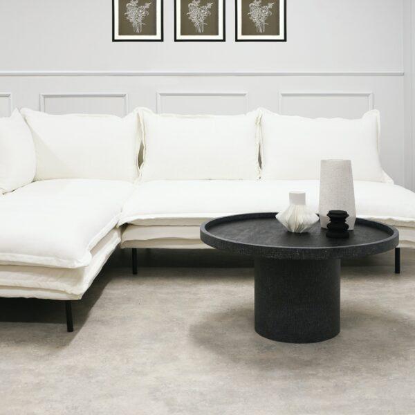 LOUIS Modular Sofa Left White