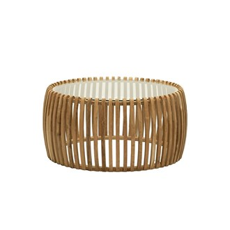 Verve Slatted Coffee Table 79cm