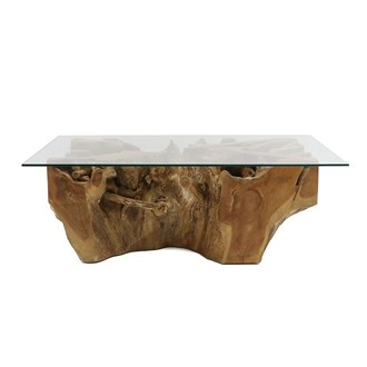 Crusoe Root Coffee Table Rectangle