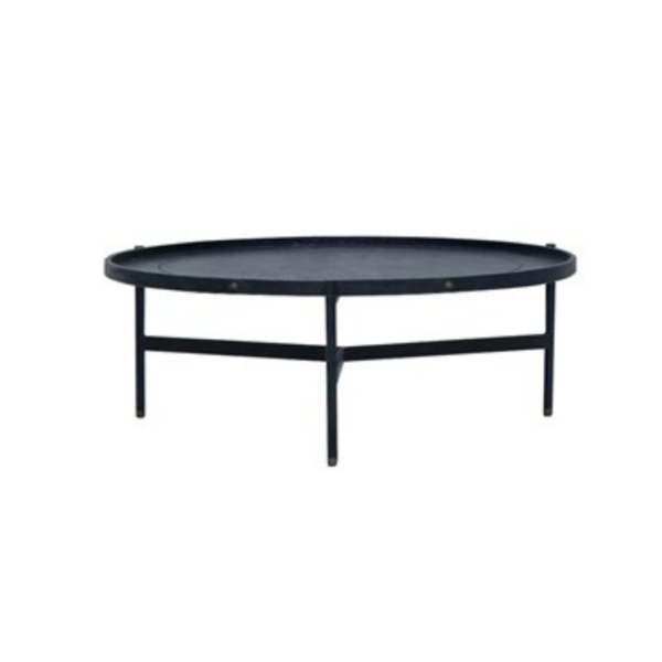 Haywood Coffee Table - Black, Short