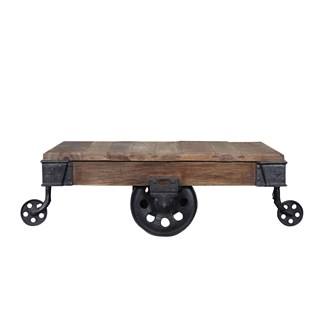 Baggage Trolley Coffee Table