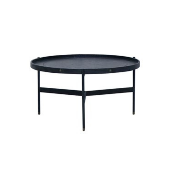 Haywood Coffee Table - Black, Short