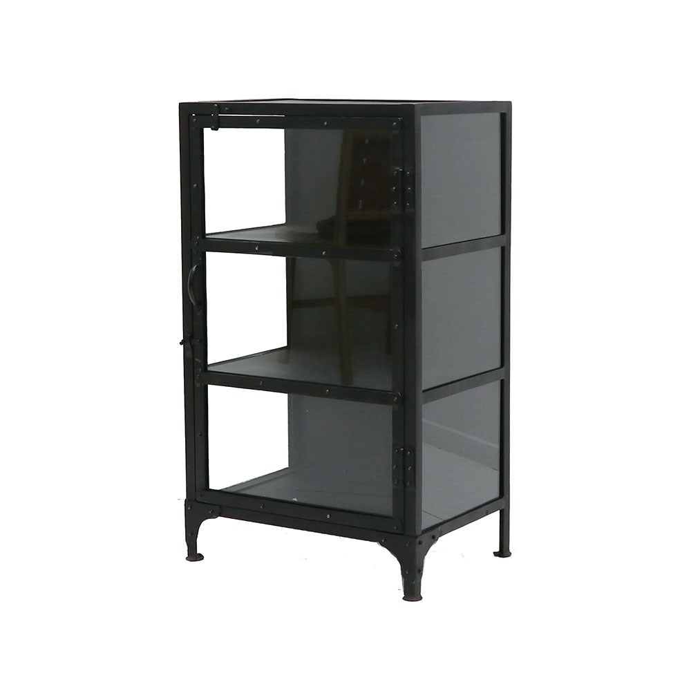 Bank Glass Display Cabinet - Short