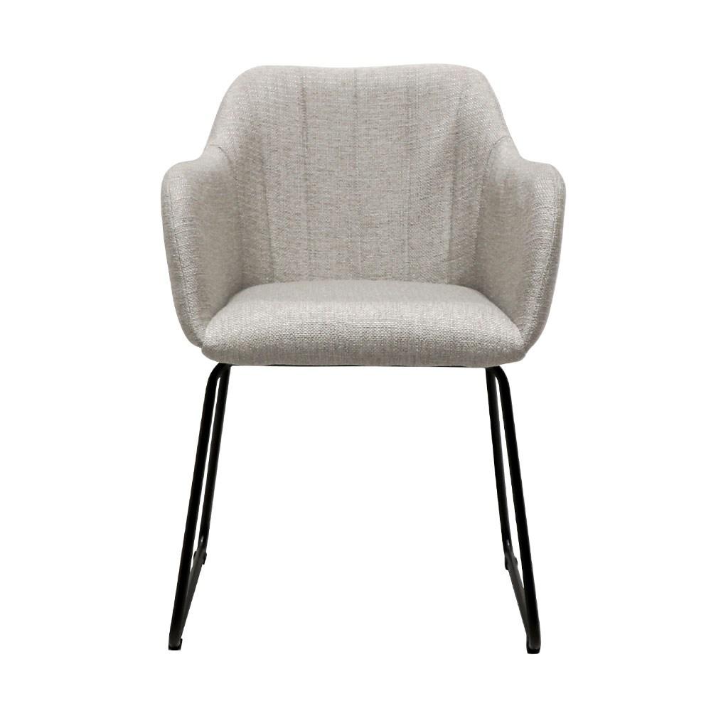Folio Fabric Dining Chair - grey