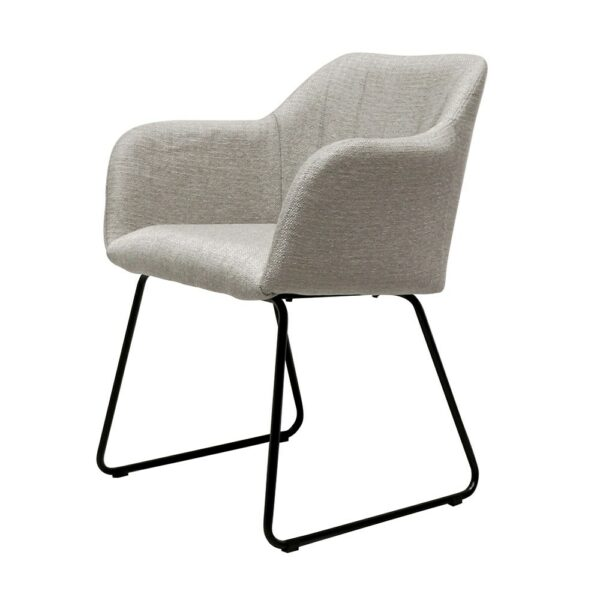 Folio Fabric Dining Chair - grey
