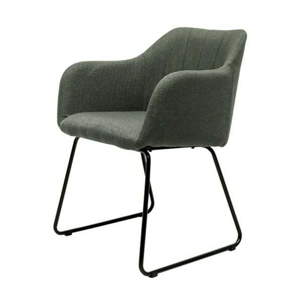 Folio Fabric Dining Chair - green