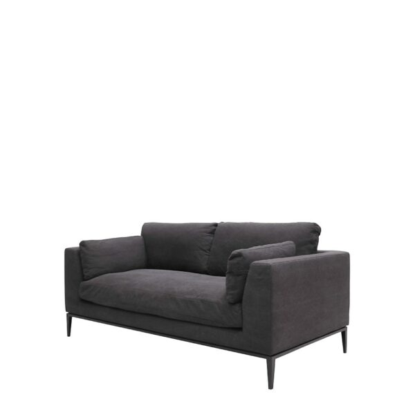 Tyson Sofa 2.5 seater - Relaxed Black