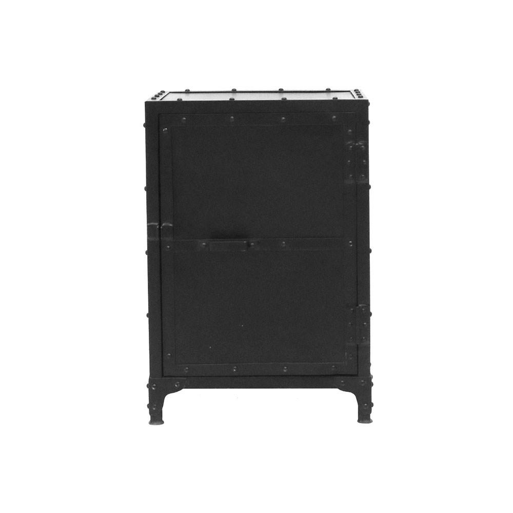 Bank Bedside Table Solid Door