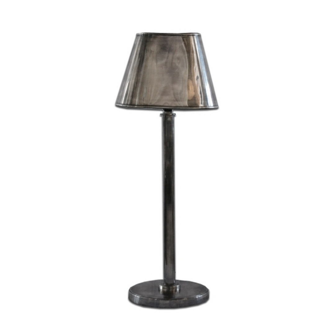 PEWTER STYLE LAMP