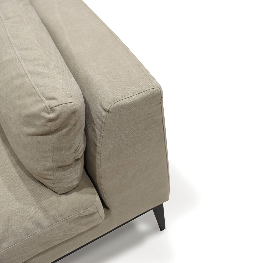 Tyson Sofa 2.5 Seater - Taupe