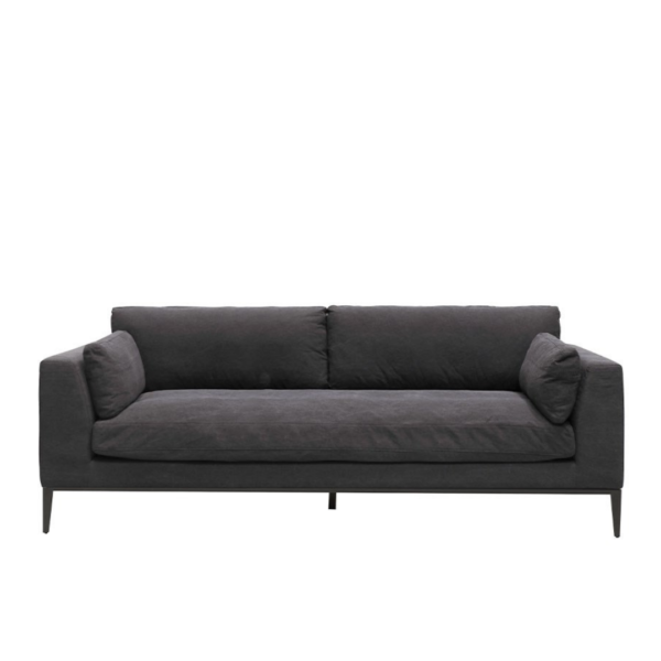 Tyson Sofa 3 seater - Relaxed Black