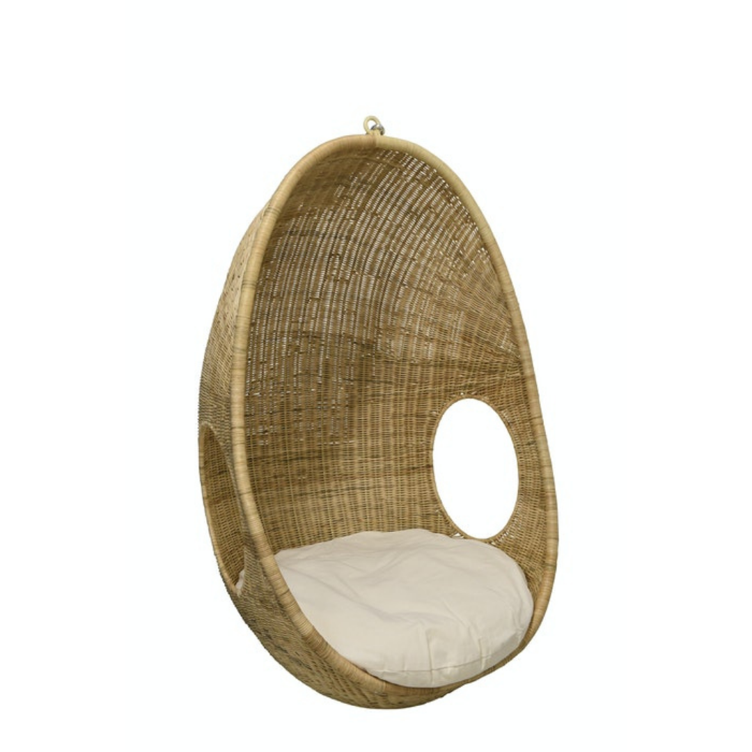 Rattan Hanging Pod Chair