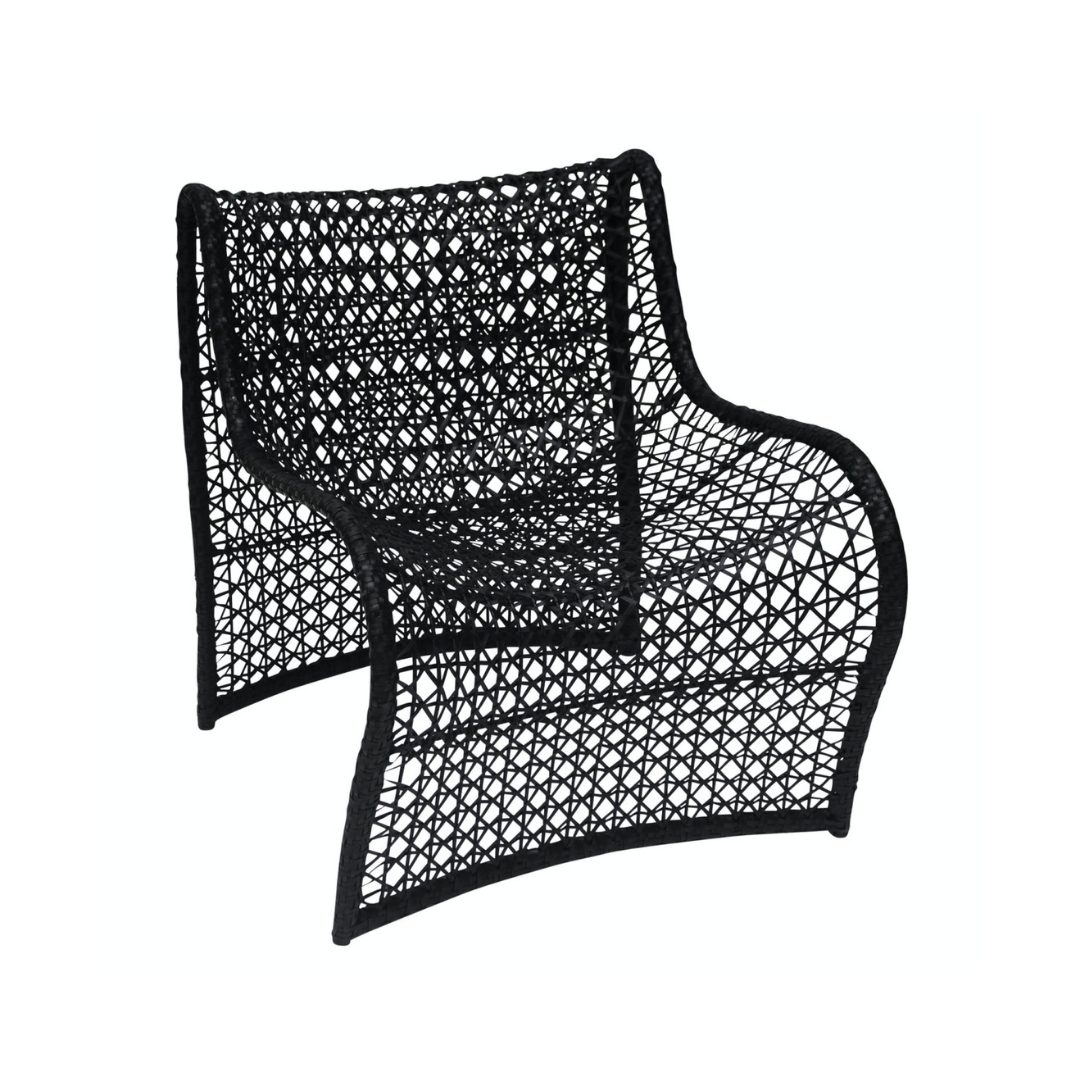 Wave Outdoor Chair Black