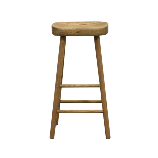 Pacific Oak Bar stool