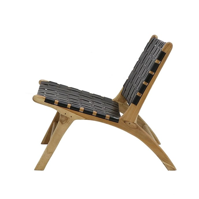 HAYES LOW CHAIR - BLACK
