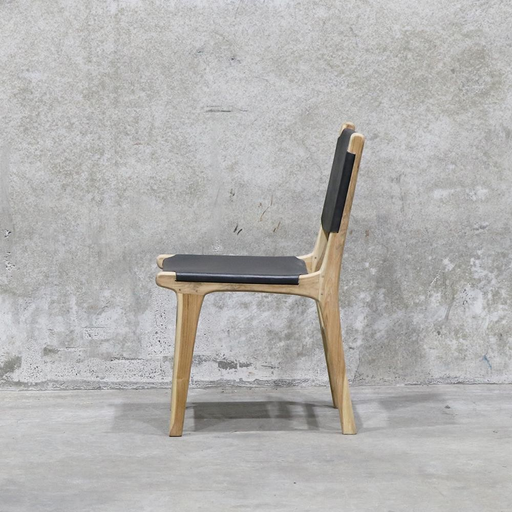 HYDE DINING CHAIR BLACK