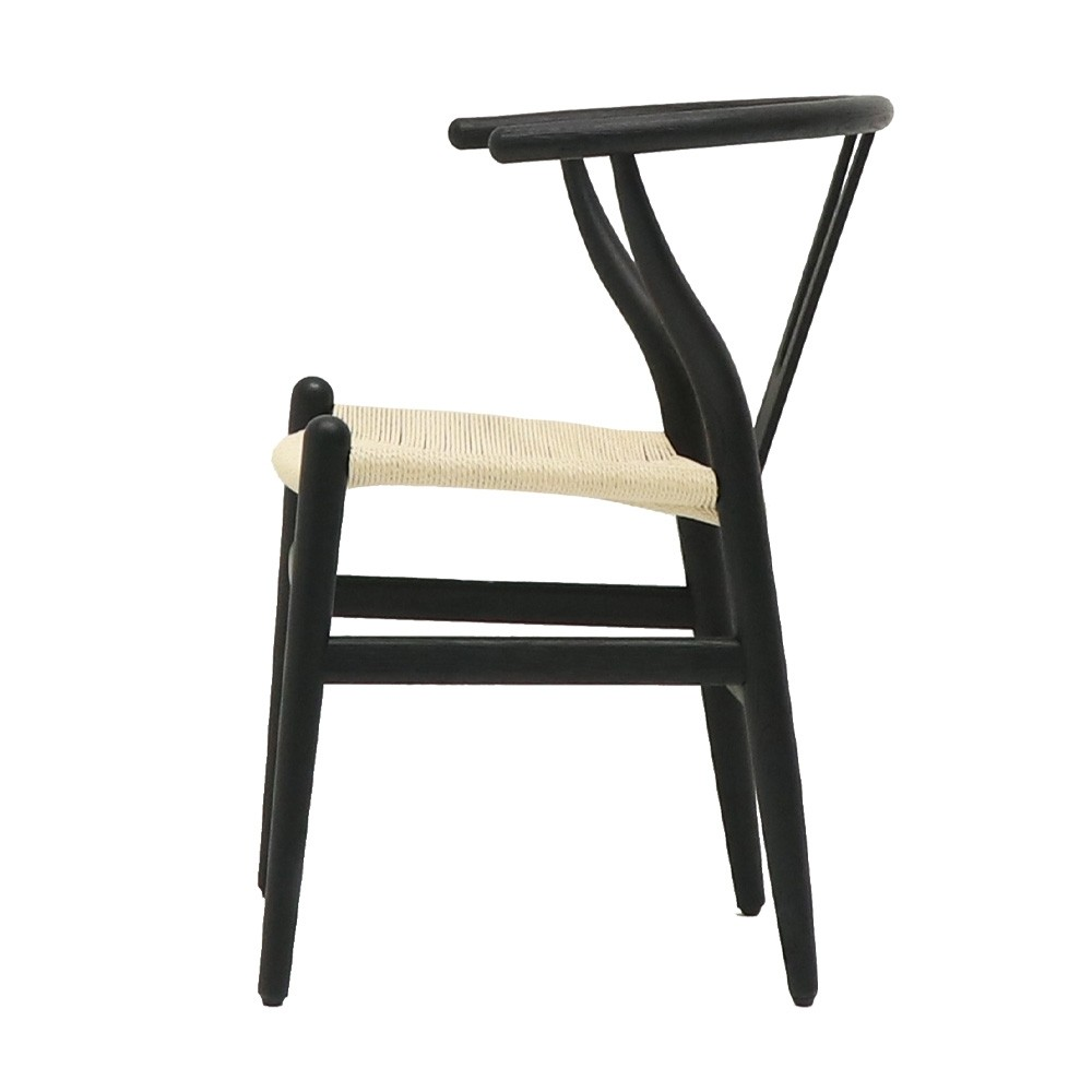 JOFFRE DINING CHAIR BLACK - NATURAL SE