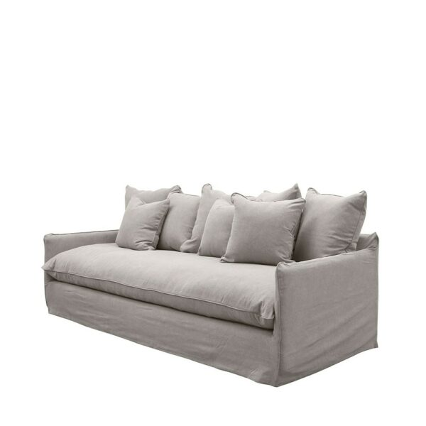 LOTUS SLIPCOVER SOFA - CEMENT