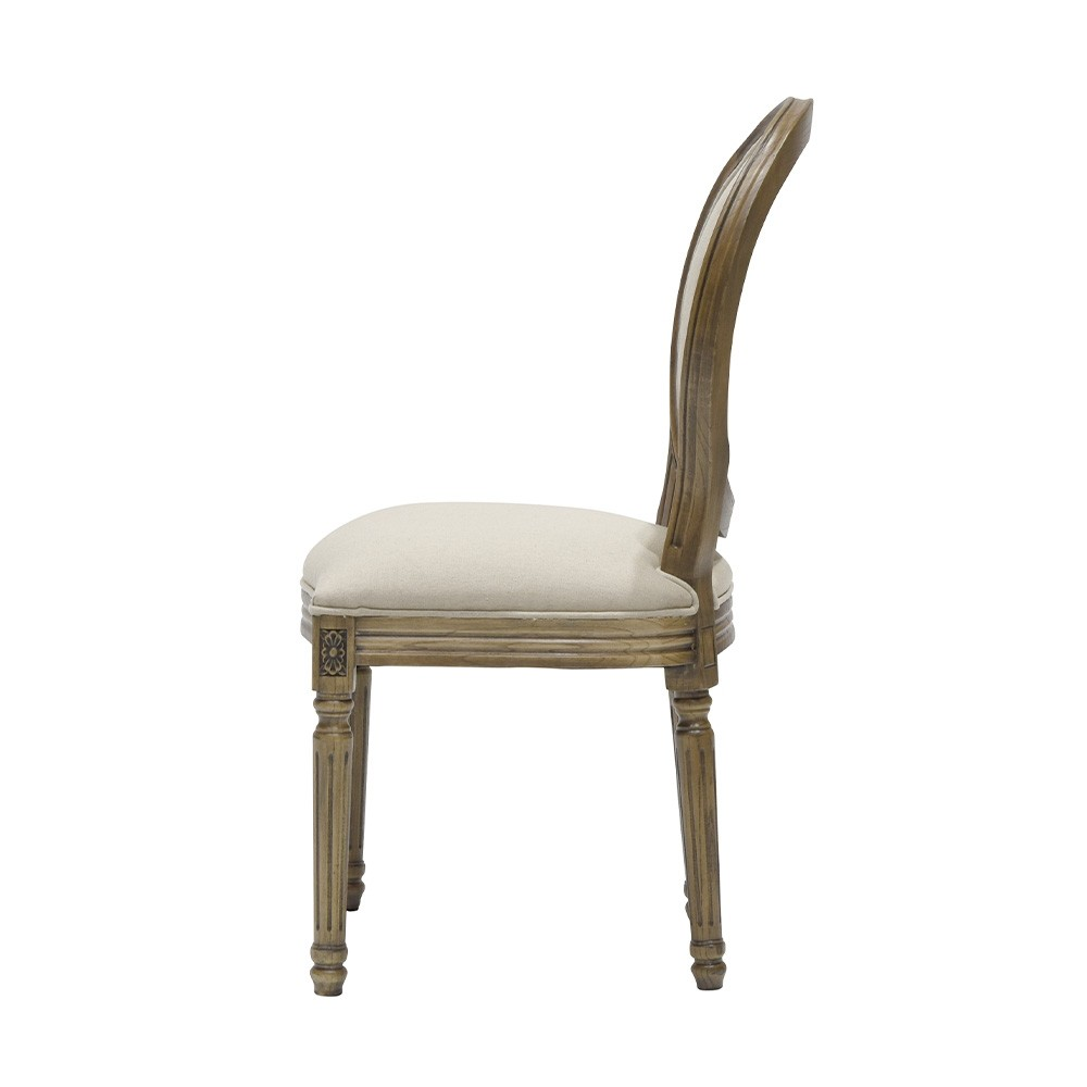 LOUIS DINING CHAIR - ROUND BACK