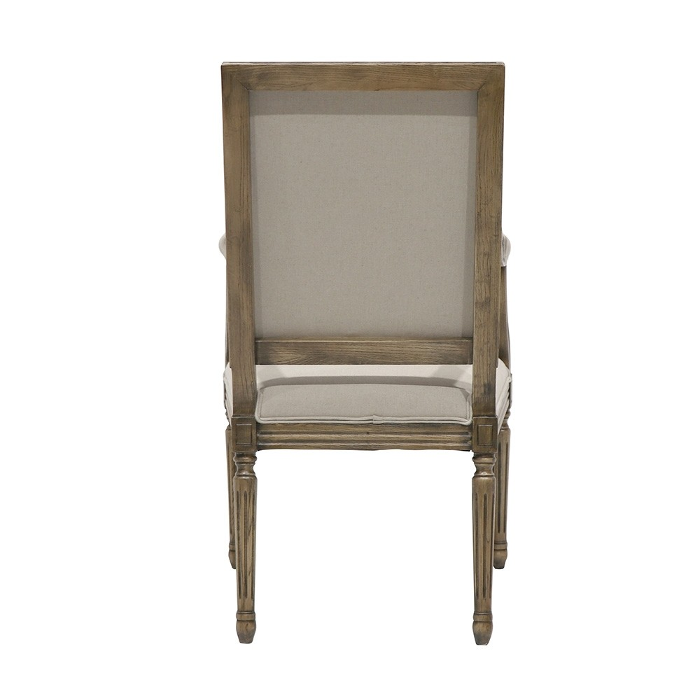 LOUIS DINING CHAIR - WITH ARMS