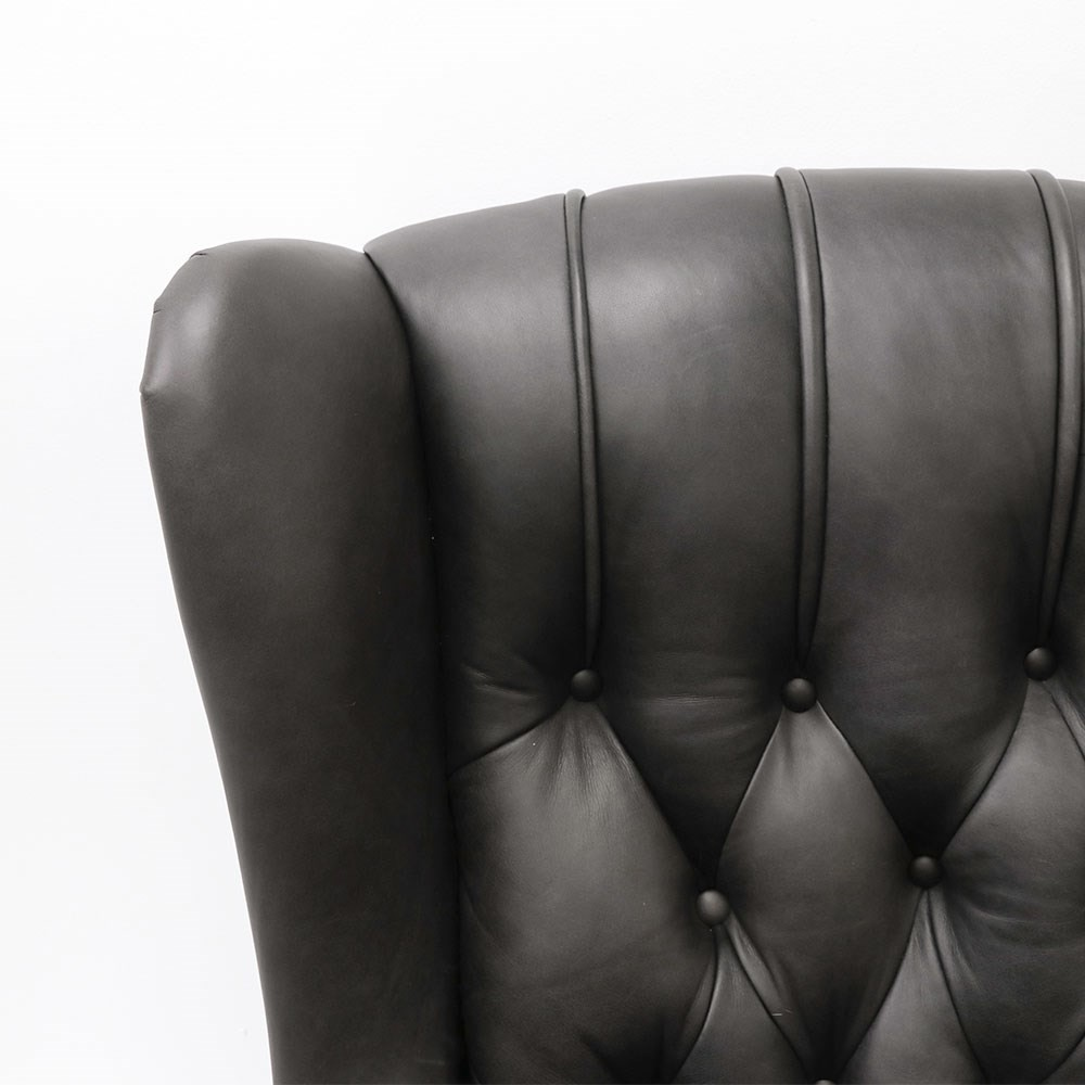 SANFORD WINGCHAIR Leather
