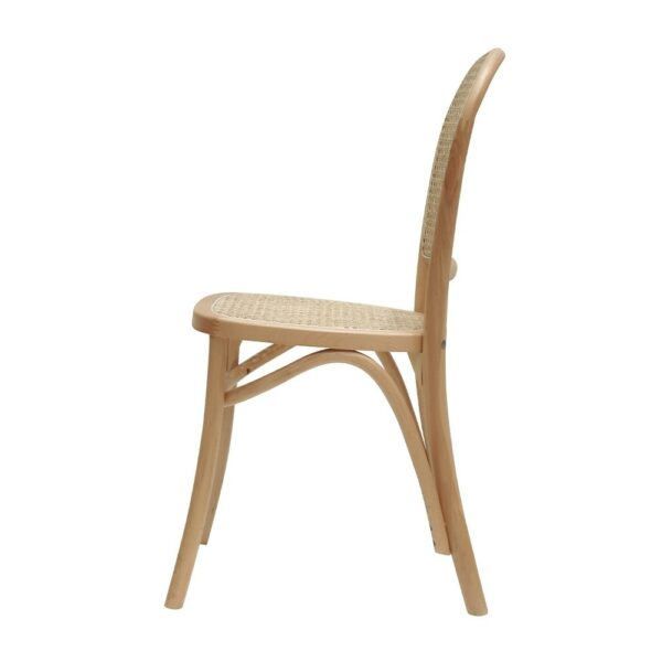 BENTWOOD RATTAN DINING CHAIR