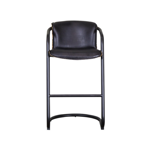 BEALEY BARSTOOL - AGED BLACK